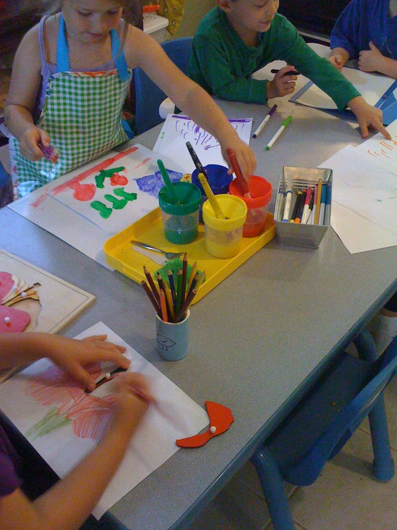 Art through literature camp 089